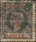 [Spanich Cuba Number 133 Surcharged, type O]