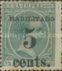 [Spanish Cuba Stamps Surcharged, type T]