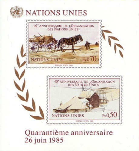 [The 40th Anniversary of the United Nations, Typ ]
