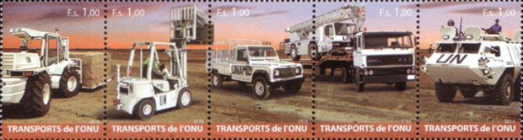 [United Nations Transportation, Typ ]