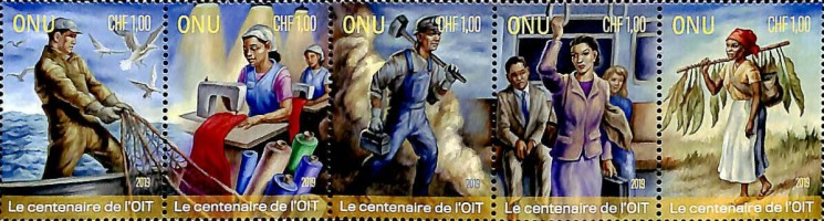 [The 100th Anniversary of ILO - International Labor Organization, type ]