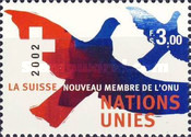 [Definitive Issue - Admission of Switzerland in the UN, Typ PG]