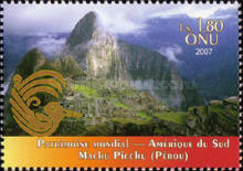[UNESCO World Heritage - South America, Typ TU]