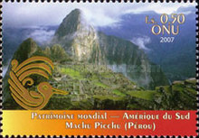 [UNESCO World Heritage - South America, Typ TY]