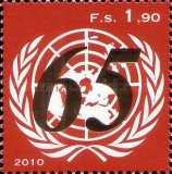[The 65th Anniversary of the United Nations, Typ YF]