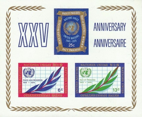 [The 25th Anniversary of the United Nations, type ]