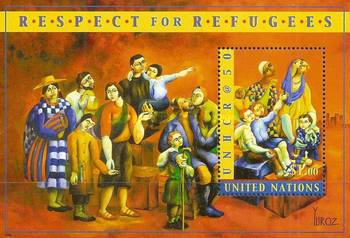 [The 50th Anniversary of United Nations High Commissioner for Refugees, type ]