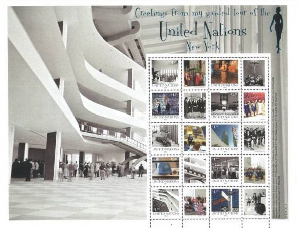 [United Nations Guided Tours - Personalized Stamps, type ]