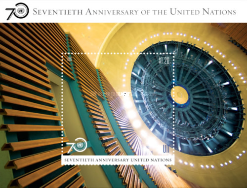 [The 70th Anniversary of the United Nations, type ]