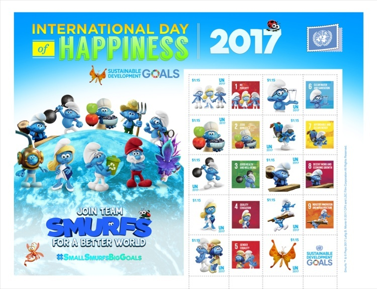 [International Day of Happiness - The Smurfs, type ]