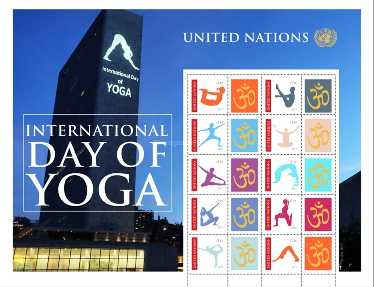 [International Day of Yoga - Personalized Stamps, type ]