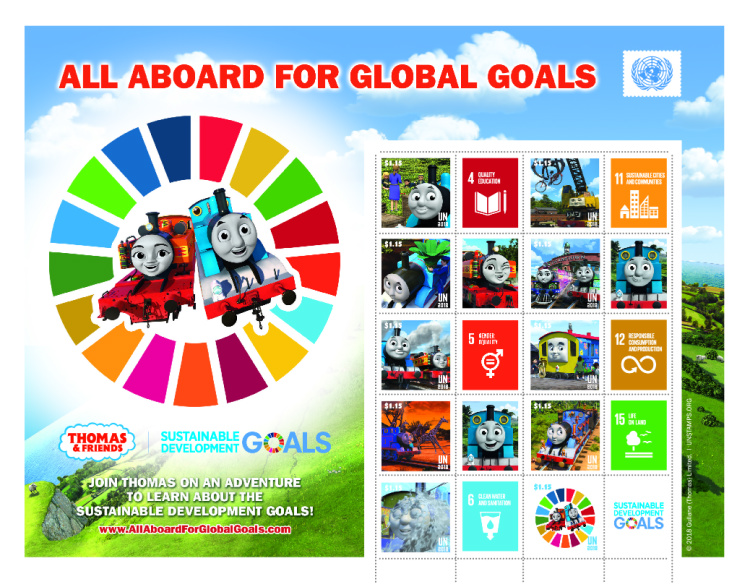 [All Aboard for Global Goals - Thomas & Friends, type ]