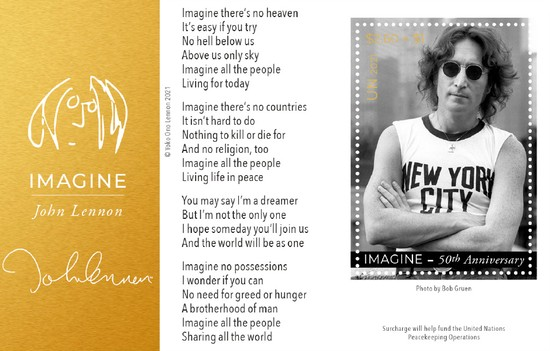 [The 50th Anniversary of Imagine, by John Lennon, 1940-1980, type ]