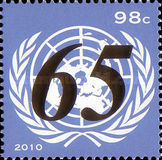 [The 65th Anniversary of the United Nations, type ANQ]