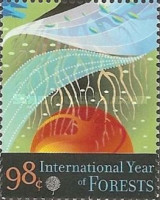 [International Year of Forests, type APU]