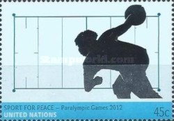 [Paralympic Games - London, England, type AQV]