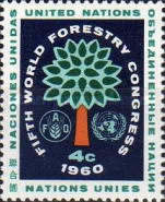 [The 5th World Forestry Congress, Seattle, type AS]