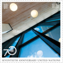 [The 70th Anniversary of the United Nations, type AXG]