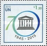 [The 70th Anniversary of the UNESCO, type AXU]