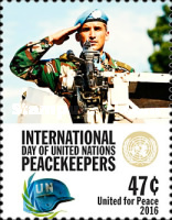 [International Day of UN Peacekeepers, type AYX]