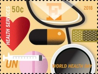 [World Health Day - The 70th Anniversary of the WHO, type BDO]