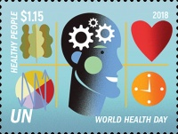 [World Health Day - The 70th Anniversary of the WHO, type BDP]