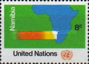 [U.N. Resolution on Namibia, South West Africa, type FF]