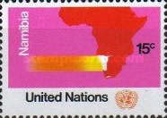 [U.N. Resolution on Namibia, South West Africa, type FF1]