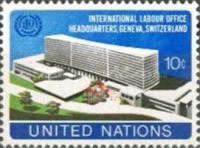 [Inauguration of New I.L.O. Headquarters Building, Geneva, type FH]