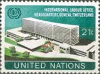 [Inauguration of New I.L.O. Headquarters Building, Geneva, type FH1]