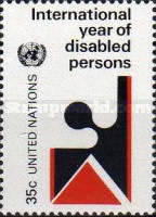 [International Year of Disabled Persons, type IF]