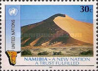 [The 1st Anniversary of Namibian Independence, type RL]
