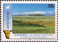 [The 1st Anniversary of Namibian Independence, type RM]