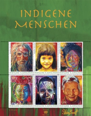 [Indigenous People - Paintings by Stephen Bennet, Typ ]