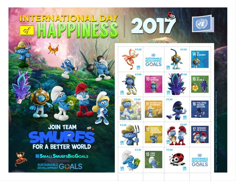 [International Day of Happiness - The Smurfs, Typ ]