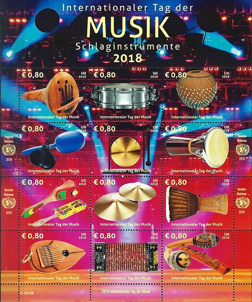 [International Music Day - Musical Instruments, Typ ]
