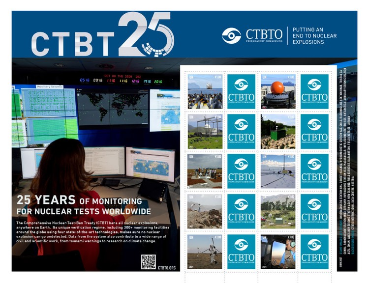 [The 25th Anniversary of the CTBTO - Putting an End to Nuclear Explosions, Typ ]