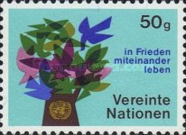 [United Nations Vienna - First Issue, type A]