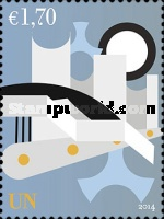 [United Nations Buildings - Definitives, Typ ADX]