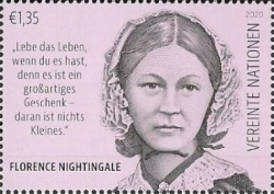 [International Year of the Nurse and the Midwife - The 200th Anniversary of the Birth of Florence Nightingale, 1820-1910, Typ ALZ]