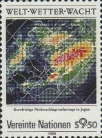 [The 25th Anniversary of the Meteorological Organization, type CL]