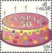 [The 50th Anniversary of the United Nations Postal Administration UNPA, Typ MB]