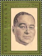 [The 100th Anniversary of the Birth of Ralph Bunche, 1904-1971, type OB]