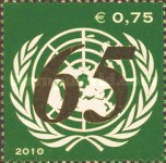 [The 65th Anniversary of the United Nations, Typ XI]