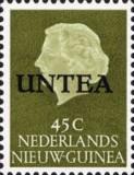 """[Netherlands New Guinea Stamps Overprinted """"UNTEA"""", type M]"""