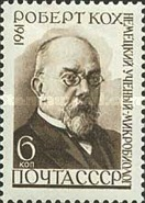 [The 50th Death Anniversary of Robert Koch, Typ CBP]