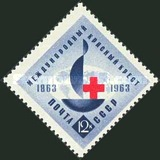 [The 100th Anniversary of Red Cross, Typ COA]