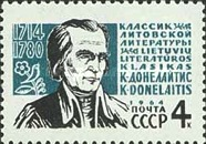 [The 250th Birth Anniversary of K.Donelaitis, Typ CQZ]