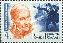 [The 100th Anniversary of the Birth of Romein Rolland, Typ DDA]