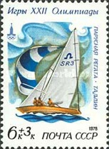 [Olympic Games - Moscow, USSR - Sailing Regatta, type FMT]